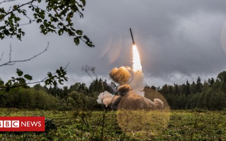 103962593 hi050087584 - INF treaty: Russia 'will respond' to new US missiles in Europe