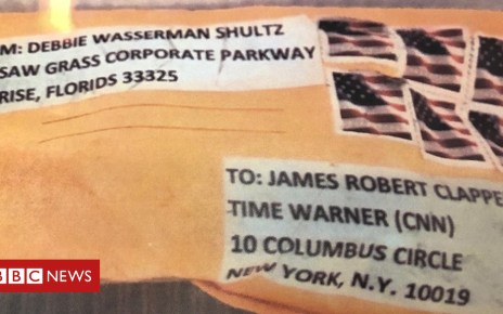 104046179 mediaitem104046178 - US mail bombs: Person held after campaign against Trump critics