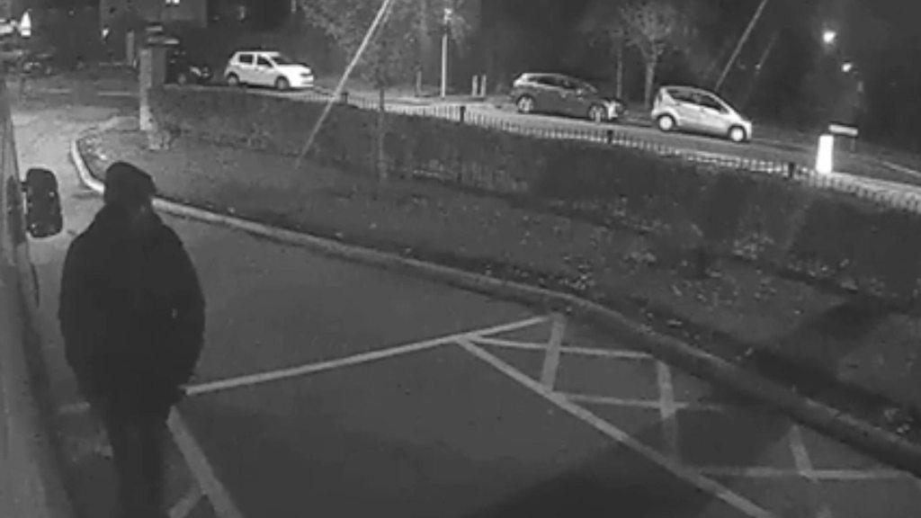 p06q8l8q - CCTV issued over ambulance break-in in Birmingham