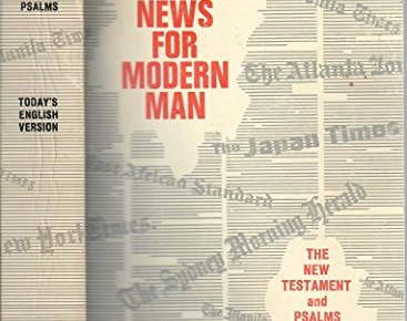 51F9 qdLm+L - Good News for Modern Man: The New Testament in Today's English Version