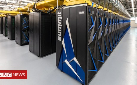 101970128 summit - US overtakes China in top supercomputer list