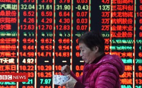 104142553 chinastocks - China stocks gain on trade war hopes