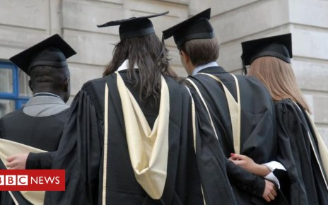 104150244 mortarboards - Too many students left with debts for 'too little payback'