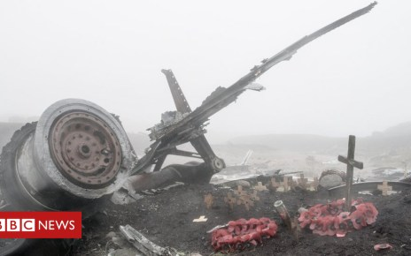 104153515 bleaklow 2 2 - Haunting images of Derbyshire plane crash 70 years on