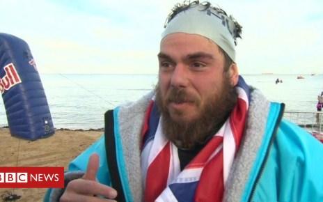 104165370 de27 - Ross Edgley sets record for round Great Britain swim