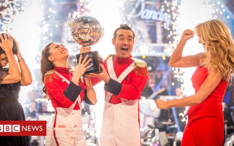 104188575 strictly joe win - Joe McFadden: Strictly has taken over my life (but not helped my acting career)