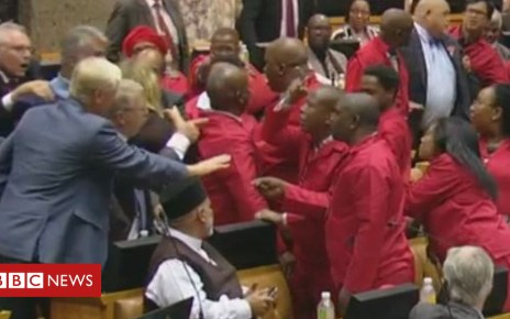 104208208 snip - How the VBS 'bank heist' sparked a parliamentary brawl in South Africa