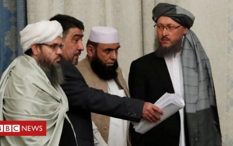 104247501 07e24fab 0f00 49b1 87c4 34d522af0dc3 - Afghanistan war: Taliban attend landmark peace talks