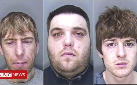 104249216 mugcollagedcpol - Plymouth gang jailed for torturing man over £100 drug debt