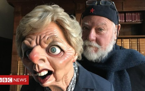104307350 maggie2 - Spitting Image archives donated to Cambridge University