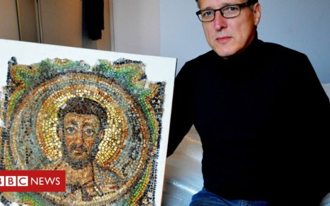 104389178 mediaitem104389177 - 'Indiana Jones of art' finds stolen Cyprus mosaic
