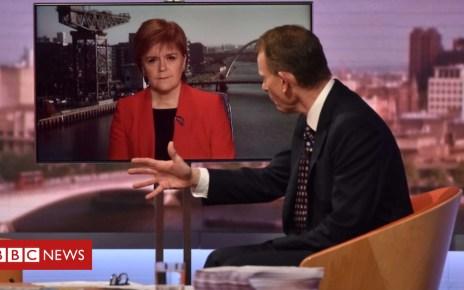 104390970 marrnicola - Nicola Sturgeon confirms SNP MPs will vote against Brexit deal