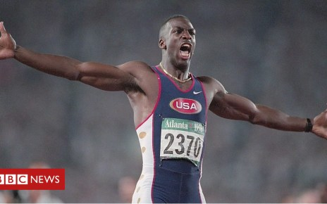104403388 p06s7ky2 - US Olympian Michael Johnson on the shock of his stroke and recovery