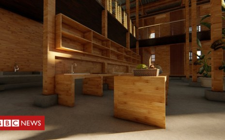 104445907 49607e7c bb13 4bfb b973 e1afbdf99943 - Low-cost 'four-hour' bamboo house wins top prize