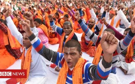 104460056 ayodhya - Is India's Ayodhya Hindu-Muslim dispute simmering again?