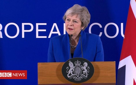 104479939 p06st15f - Brexit: Theresa May 'full of optimism' as deal agreed by EU