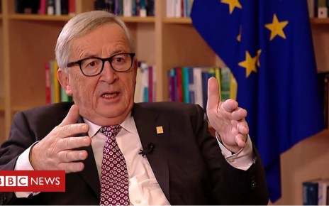 104479944 p06st8nb - Brexit: 'I'm never changing my mind' says Juncker