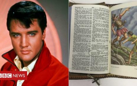 104517213 elvisbible - Elvis bible and Michael Jackson self-help book sold
