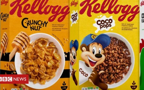 104525908 kelloggs - Kellogg's gives in on government's 'traffic light' labels