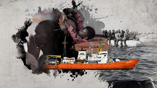 1545511789 159 Malta airlifts newborn and mother from migrant ship - African migration 'a trickle' thanks to trafficking ban across the Sahara