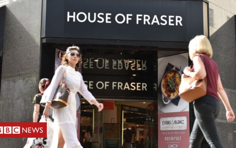 102907031 houseoffraser getty - House of Fraser warehouse to close with about 300 jobs lost