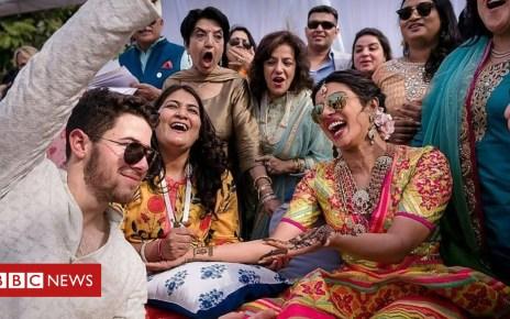 104586114 mediaitem104586113 - Newly-wed Priyanka Chopra and Nick Jonas have Hindu ceremony