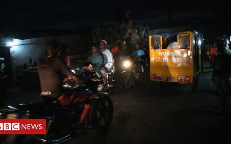 104627151 liberia - Liberia electricity crisis: 'About 60% of power stolen'