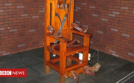 104640560 mediaitem104640559 - Tennessee inmate chooses electric chair over lethal injection