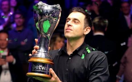 104710765 trophy pa - UK Championship: Ronnie O'Sullivan beats Mark Allen to win record seventh title