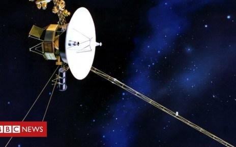 104710855 1977 august september voyager1 1 - Nasa's Voyager 2 probe 'leaves the Solar System'