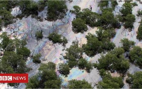 104728540 p06v873b - Oil thieves cause spill in Rio de Janeiro's Guanabara Bay