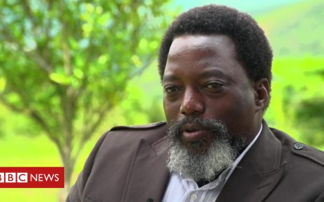 104736478 p06v8q2y - Congo's President Kabila on elections, corruption and his future