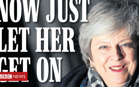 104760313 express13dec - Newspaper headlines: May survives, but for how long?