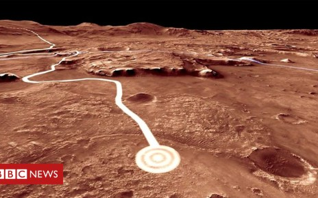 104798138 p06vjxqz - Drive with Nasa's next rover on Mars