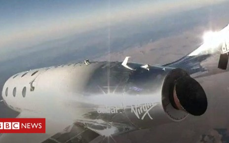 104800717 p06vkmt9 - Virgin Galactic's SpaceShipTwo: The view from the edge of space