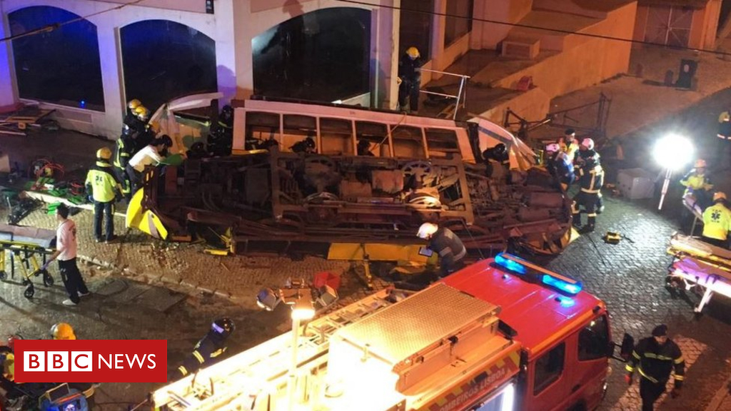 104823038 lisbontram - British children hurt in Lisbon tram crash