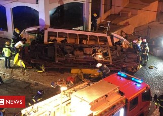 104823038 lisbontram - British children hurt in Lisbon tram crash