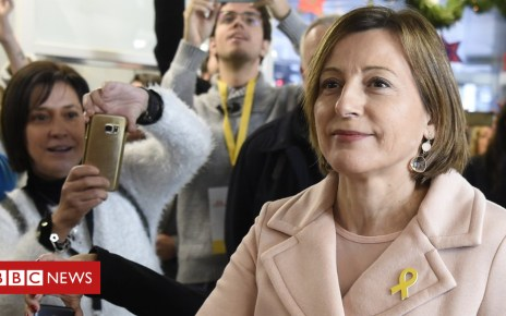 104858100 gettyimages 896514694 - Jailed Catalan speaker Forcadell appeals for freedom