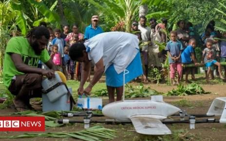 104870435 un0265456 1 - Vanuatu uses drones to deliver vaccines to remote island