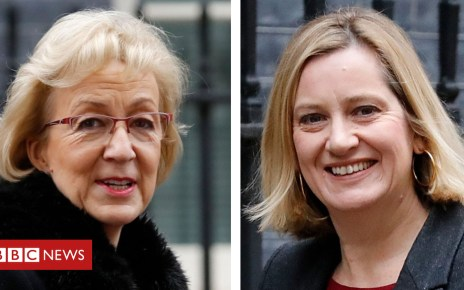 104889677 aleadsomeudd - Andrea Leadsom and Amber Rudd suggest rival Brexit 'Plan Bs'
