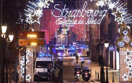 p06v9vfg - Strasbourg shooting: France hunts gunman as alert level raised