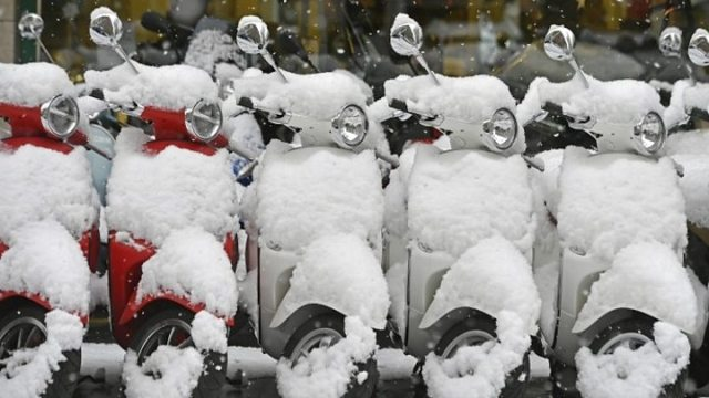 1547207088 477 Snow brings parts of Europe to standstill - Snow brings parts of Europe to standstill