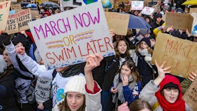 1548418909 667 Children039s climate rallies gain momentum in Europe - Greta Thunberg nominated for Nobel Peace Prize for climate activism