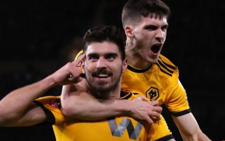 105094936 neves pa - Wolves knock Liverpool out of Cup