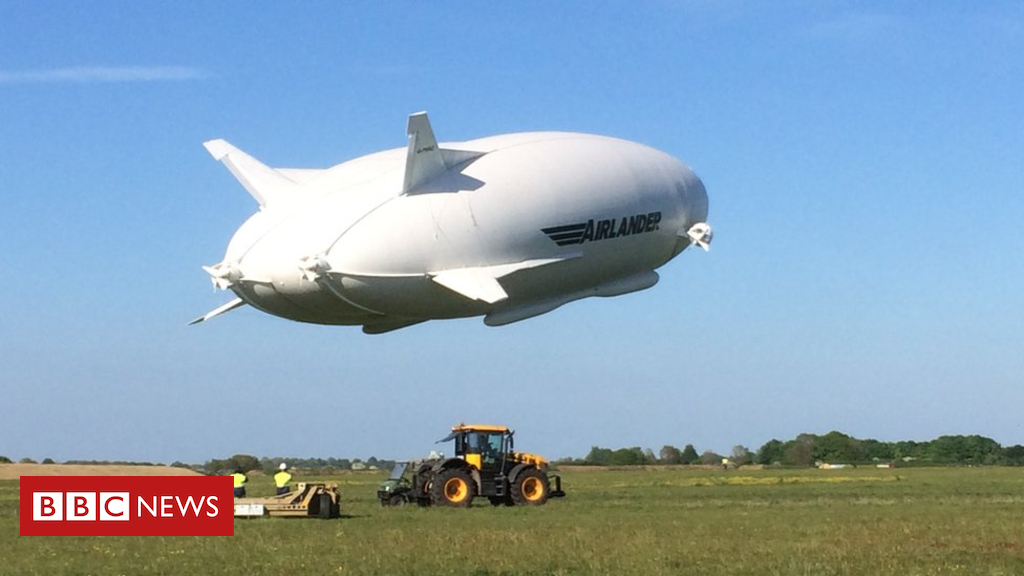 105117203 take offovergroundsupportequipment - Airlander 10: World's longest aircraft grounded