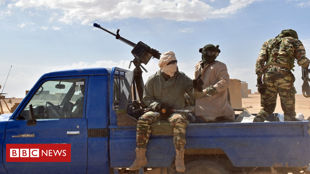 105119087 gendarme - African migration 'a trickle' thanks to trafficking ban across the Sahara