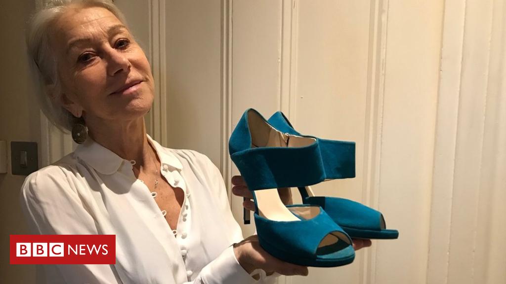 105143759 damehelenmirrenshoesimage - Helen Mirren shoes in Snapping the Stiletto 'Essex girl' display
