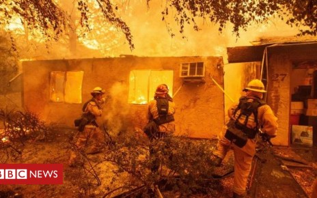 105172513 brl3gx0c - US wildfires push energy firm PG&E to bankruptcy protection