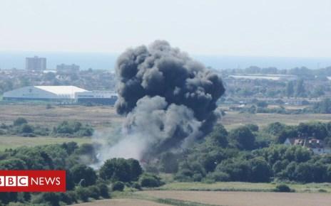 105222628 aea0a8a2 26c4 462f 87ec bb14094927b4 - Shoreham air crash trial: Pilot Andy Hill 'did nothing' to avoid crash