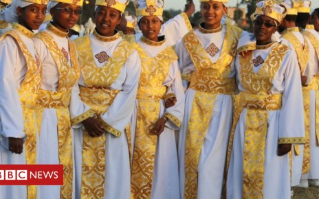 105254904 18 - In pictures: Ethiopians celebrate the festival of Timket
